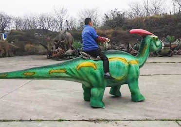 Walking Dinosaur Ride